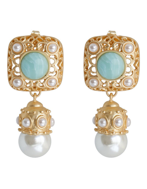 Ariel Pearl Earrings