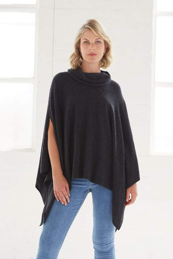 Luxe Cowl Poncho