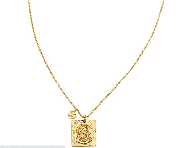 Madonna Pendant Necklace
