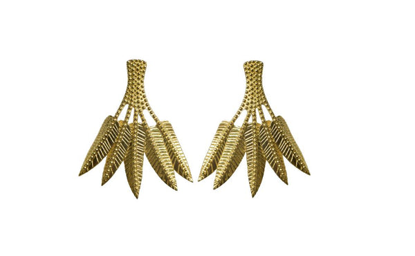 Ravella Palm Earrings
