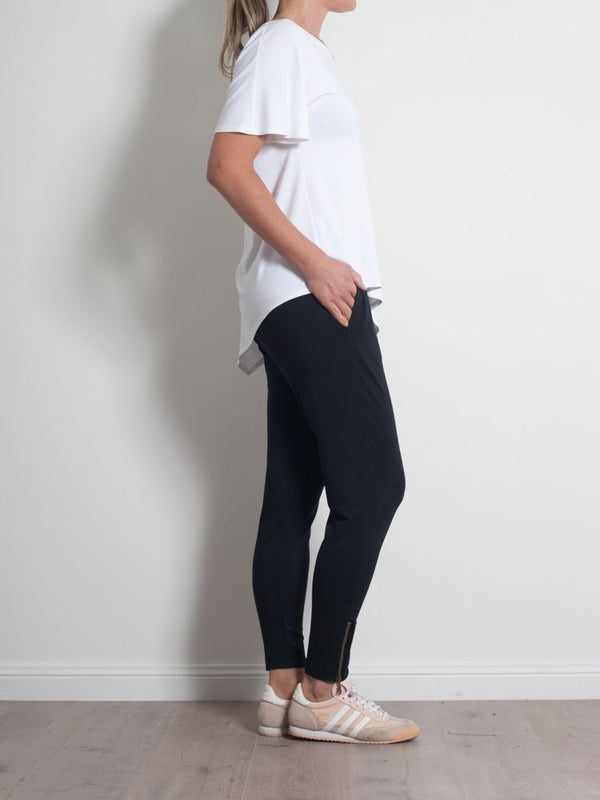 Zip Stiletto Pant