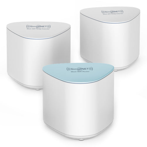 SimpliNET2 Mesh WiFi System with Smart Firewall 3-Pack