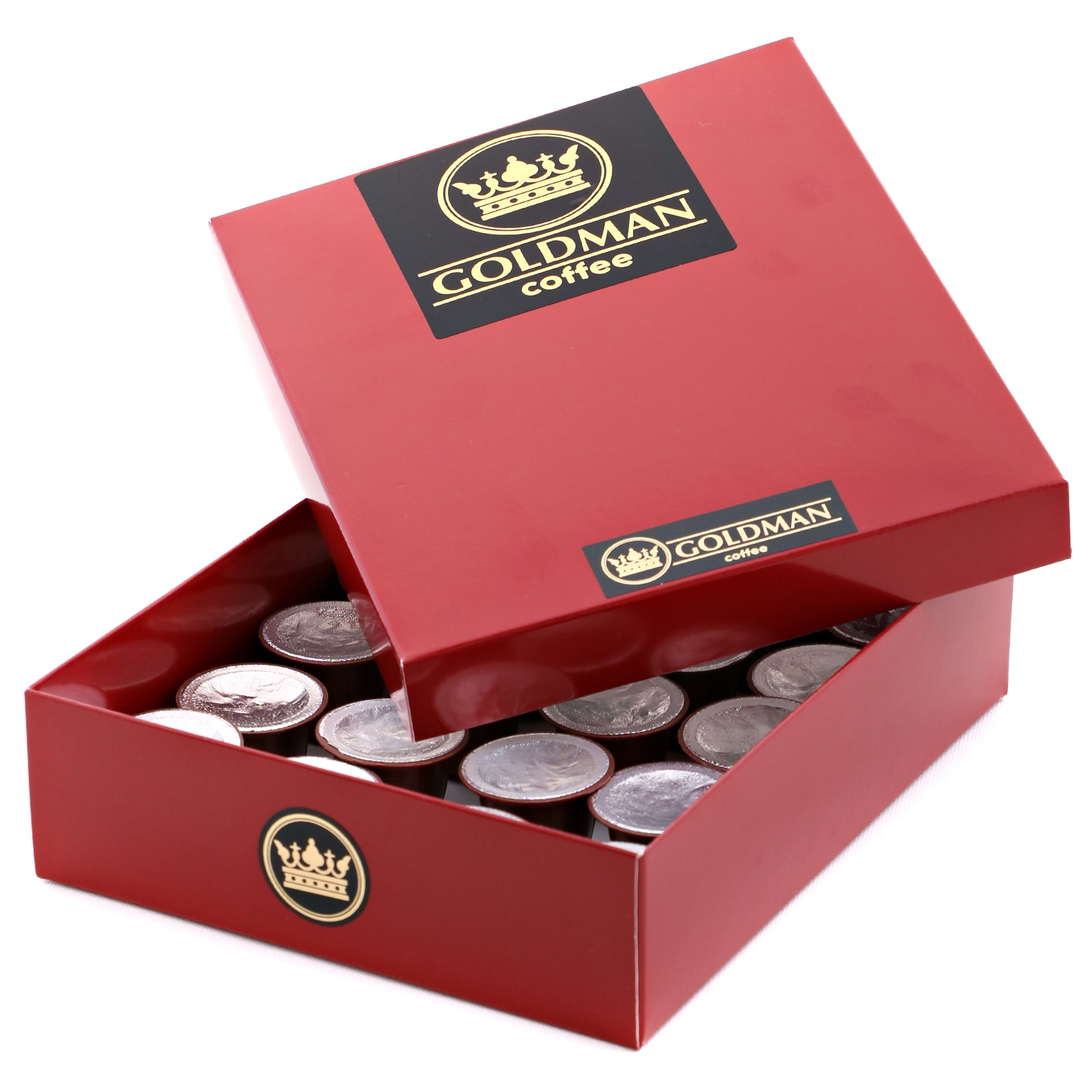 Gift Box of 36 Coffee Capsules for your Nespresso