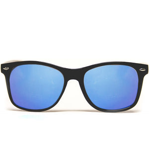 Diffraction Glasses - Black - Blue Mirror