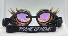 Load image into Gallery viewer, Steampunk Kaleido Goggles - Brass