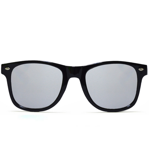 Diffraction Glasses – Black – Silver Mirror