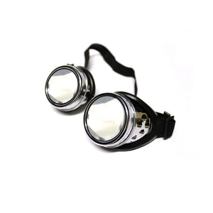 Diffraction Goggles - Chrome