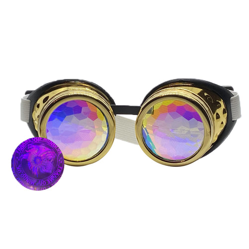 Kaleido Goggles - Royal Gold