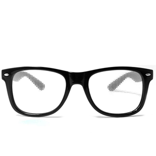 Diffraction Glasses – Black - Heart Effect