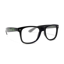 Load image into Gallery viewer, Diffraction Glasses – Black - Heart Effect