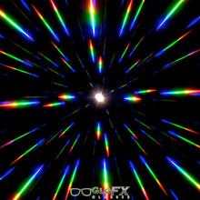 Load image into Gallery viewer, Diffraction Glasses - Black - Gold Mirror