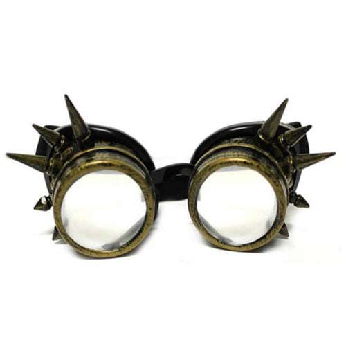 Diffraction Goggles - Brass Spike