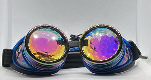 Neon Kaleido Goggles - Oil w/ Blue Light