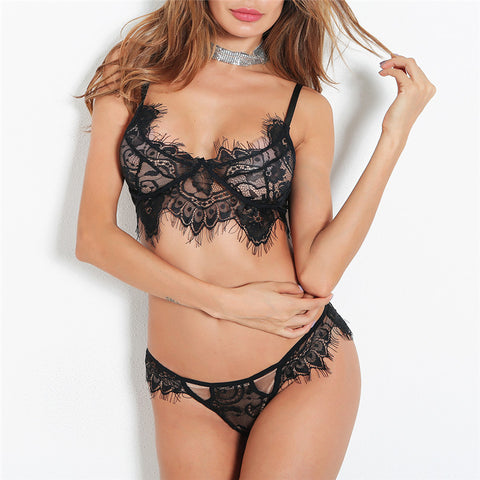 Holly Lingerie Set - Black