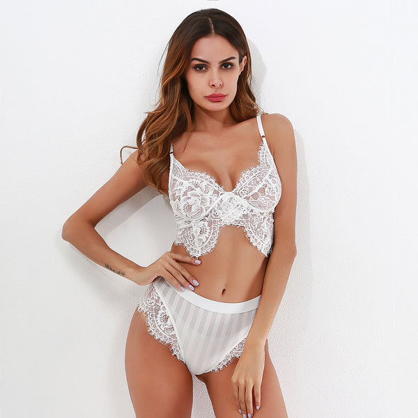 Eloise Lingerie Set - White