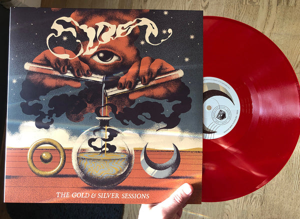 "UK / EURO ORDERS:  ELDER ""The Gold & Silver Sessions"" Worldwide Edition Red Vinyl LP"