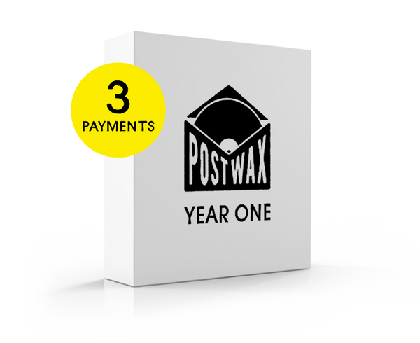 PostWax Year One Subscription - 3 Payments (finance charge added at checkout)