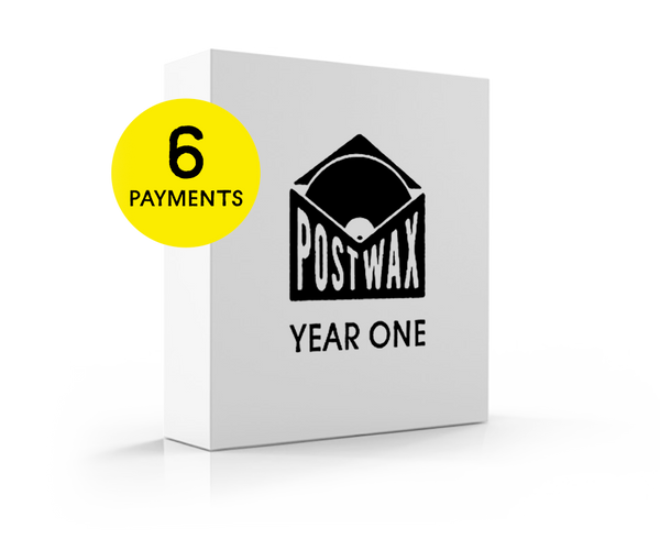 PostWax Year One Subscription - 6 Payments (finance charge added at checkout)
