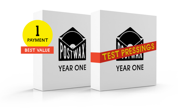 PostWax Year One Test Pressing Subscription (Single Payment)