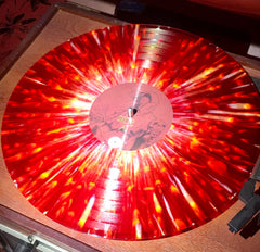 "US ORDERS:  RED MESA ""The Path to the Deathless"" Limited Edition Red and White Marble/Splatter LP"