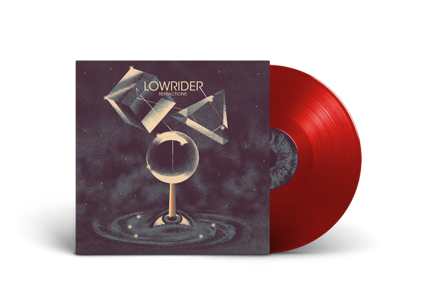 "US ORDERS:  LOWRIDER ""Refractions"" Translucent Red Vinyl Worldwide Edition LP"