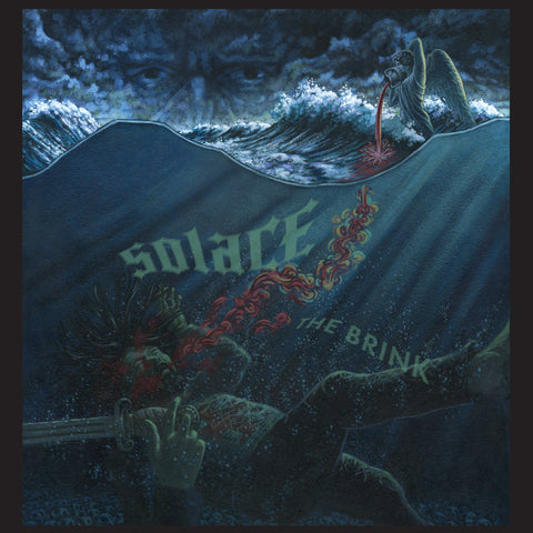 Solace - The Brink - US - Limited Edition Double LP on 180-Gram Dark Blue & White Swirled Vinyl