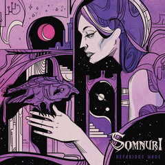 "US PREORDER (June 2021):  SOMNURI ""Nefarious Wave"" Autographed Test Pressing LP with Hand-Printed Cover Insert"
