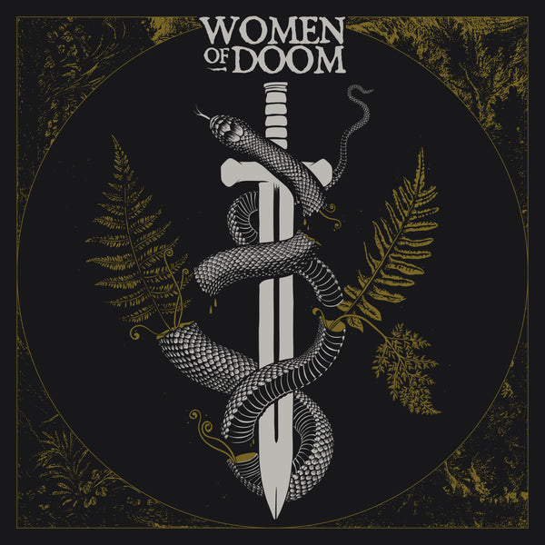 UK / EURO ORDERS:  WOMEN OF DOOM - Limited Edition Gatefold LP on Green Smoke Vinyl