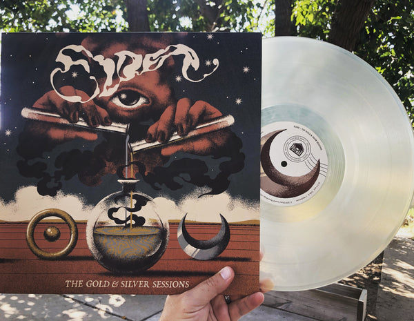 "US ORDERS:  ELDER ""The Gold & Silver Sessions"" Worldwide Edition Clear Vinyl LP"