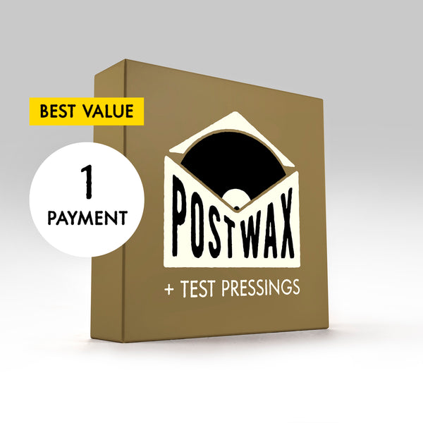 PostWax Series II Deluxe Subscription + Limited Test Pressings