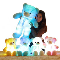 Plush Light-Up Teddy Bear