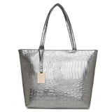 Casual Crocodile Handbag