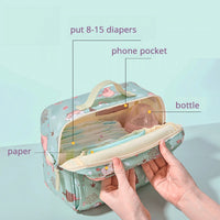 Waterproof Diaper Bag by SUNVENO