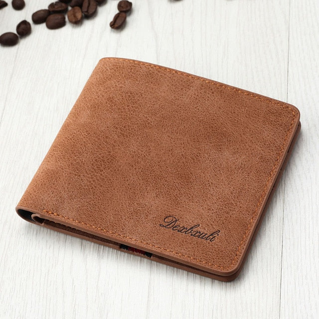 Ultra Thin Bi-fold Wallet