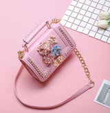 Trendy Crossbody Purse with Chain