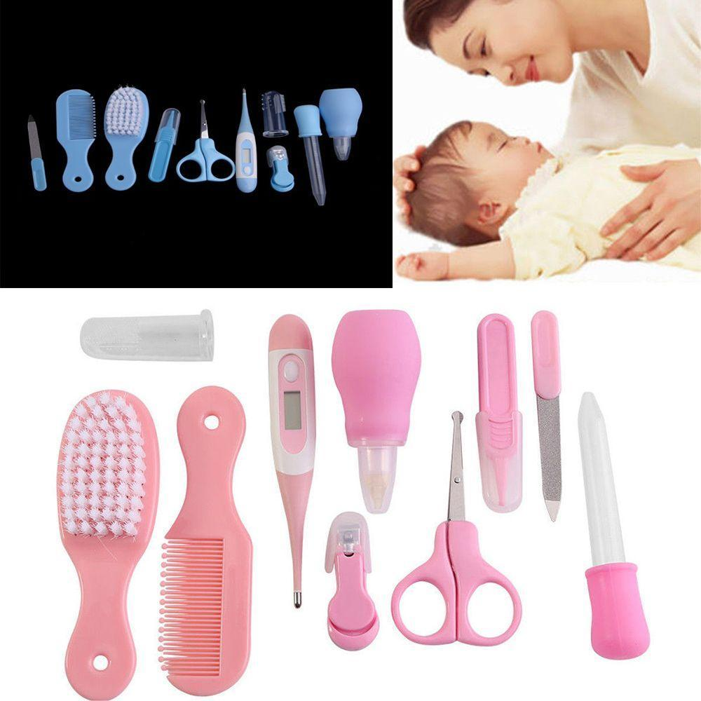 10 Pcs/Set Exquisite Safety Newborn Baby Health Care