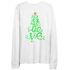 Song Title Holiday Christmas Long Sleeve tee