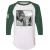 Kaavan Freed Green/White Baseball Tee