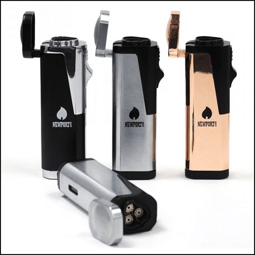 NEWPORT TRIPLE FLAME CIGAR LIGHTER