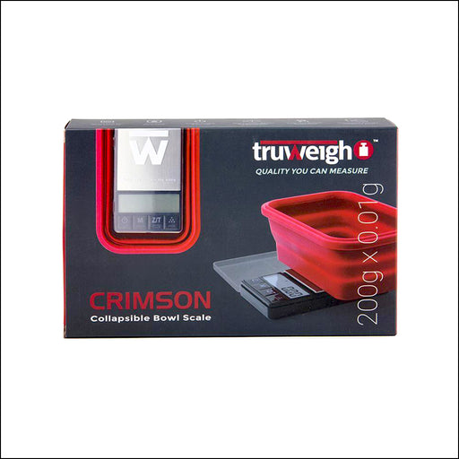 TRUWEIGH - SCALE - CRIMSON (200g - 0.01g) CR-200-01-BK
