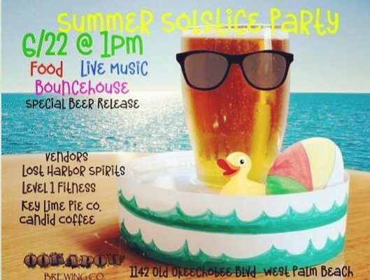 Summer Solstice Party - June 22nd