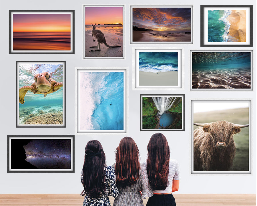 Riptide photography wall prints