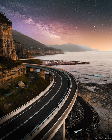 Astro At Sea Cliff Bridge