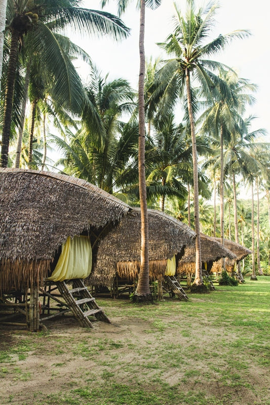 Bamboo Huts | Phillipines