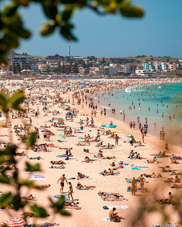 Bondi Beach on Australia Day