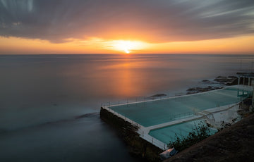 Bondi Icebergs Sunrise Long Exposure