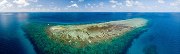 Panoramic - Bonnie's Lagoon - Great Barrier Reef