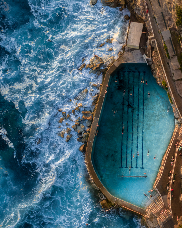 Bronte Baths Topdown Gradient