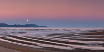 Cape Conway Moonrise #2 Pano