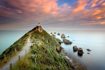 Catlins Nugget Point Lighthouse NZ